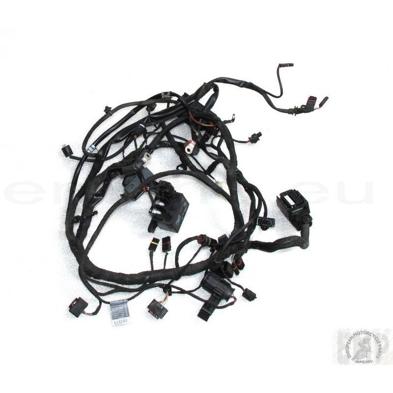 bmw f 800 st 2009 main wiring harness 61117705431
