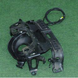 HONDA NC 700 TRAY, FUEL TANK , PLATE B, CROSS , lock system 17507-MGS-D30 , 50236-MGS-D30